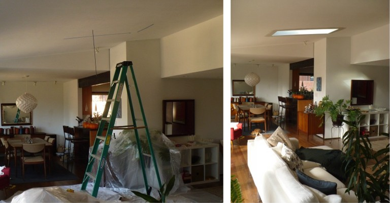 Skywright Skylights Done Right Before And After Photos